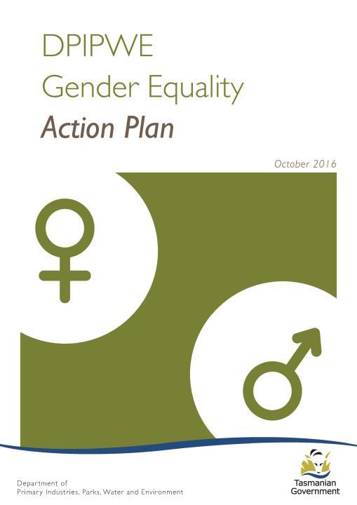 DPIPWE Gender Equality Action Plan