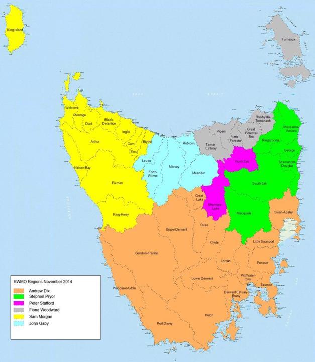 Water Management Regions